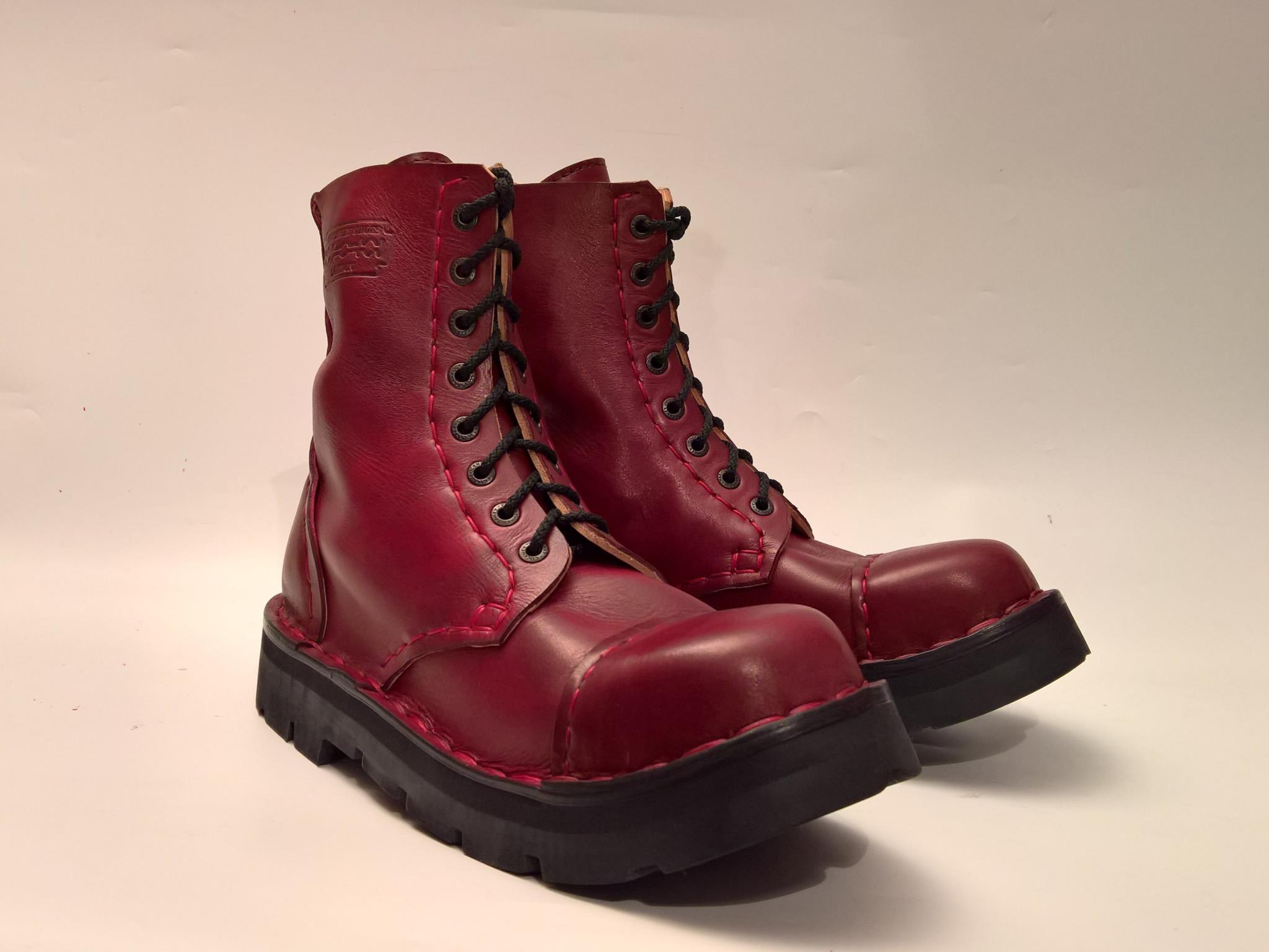 Cockney boots burgundy